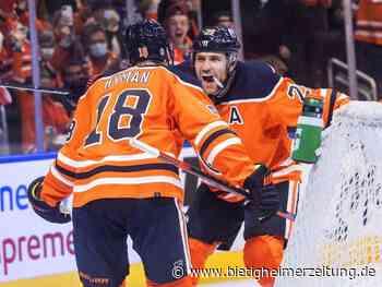 NHL: Draisaitl und Oilers feiern Auftaktsieg - Bietigheim-Bissingen - Bietigheimer Zeitung