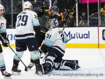Eishockey: Grubauers Kraken starten mit Niederlage ins NHL-Abenteuer - Bietigheimer Zeitung