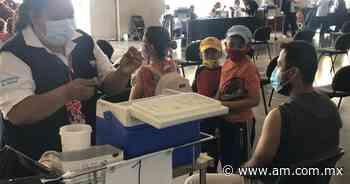 Vacuna COVID Irapuato: Acude Alan en familia - Periódico AM