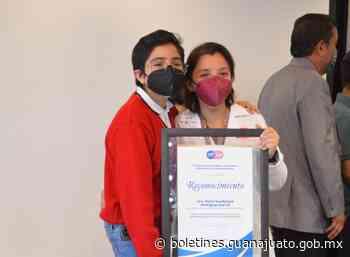 SSG reconoce a la Jefa de Enfermeras del Hospital General de Irapuato - Noticias Gobierno del Estado de Guanajuato