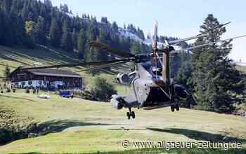 Übung am Hochgrat Oberstaufen: Bundeswehr und THW üben Katastrophenfall - Allgäuer Zeitung