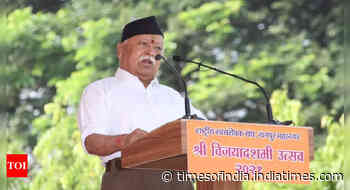 Bharat's journey from 'swadheehnta to swatantrata' is yet far from complete:  RSS chief Mohan Bhagwat at annual Dussehra address