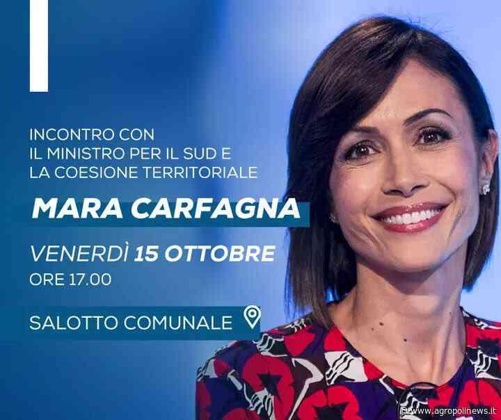 BATTIPAGLIA, DOMANI POMERIGGIO ARRIVA IL MINISTRO MARA CARFAGNA - Sergio Vessicchio