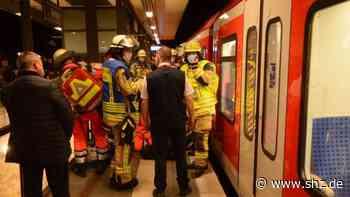 Unfall im S-Bahnhof Reinbek: Glück im Unglück: Mann wird rechtzeitig aus Gleisbett gezogen | shz.de - shz.de