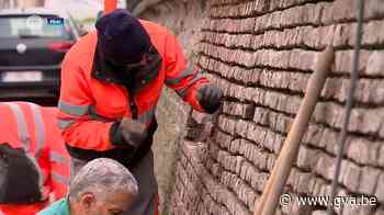 """Niel restaureert bakstenen erfgoed: """"We koesteren ons steenb... (Niel) - Gazet van Antwerpen"""