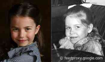 'That is uncanny!' Princess Charlotte's likeness to Queen's niece sparks royal fan frenzy