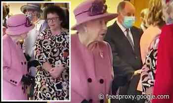 WATCH: Irritated Queen in shock rant at world leaders - 'They talk and don't DO!'