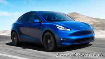 New 2022 Tesla Model Y: prices start from £54,990 in the UK