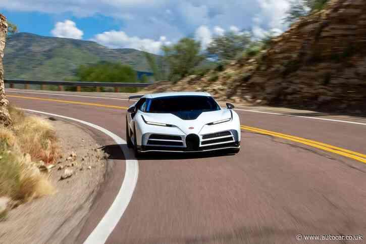 Bugatti Centodieci completes hot-weather testing