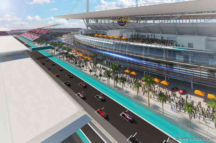 F1 reveals record 23-race 2022 calendar with new Miami event