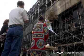 Officials Seek Cause of Taiwan Building Fire That Killed 46   World News   US News - U.S. News & World Report