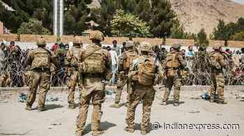 Marine who criticised Afghanistan withdrawal pleads guilty - The Indian Express