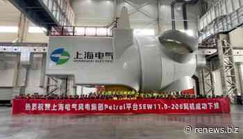 Shanghai Electric unveils 11MW offshore turbine
