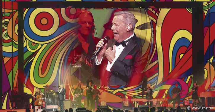 Mannheim:  Furioses Roland Kaiser-Konzert mit alten und neuen Songs