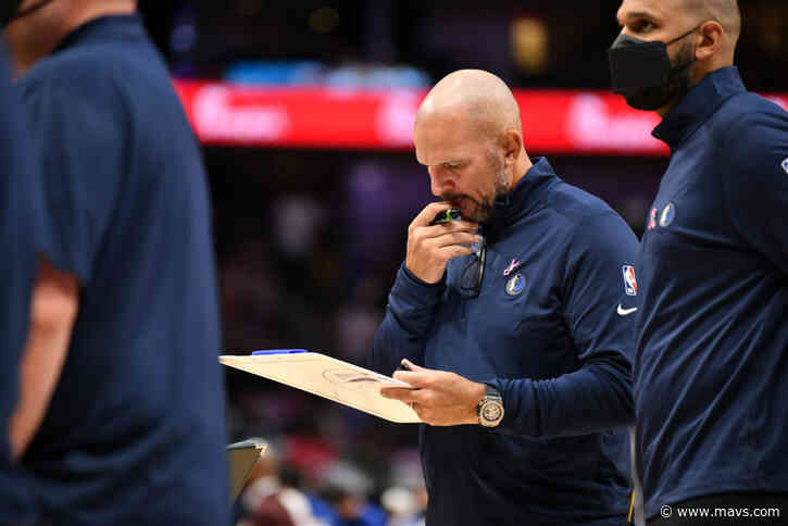 Embracing Change, the Mavs Are Excited About Jason Kidd