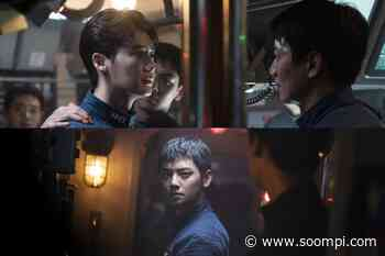 "Lee Jong Suk, Kim Rae Won, And ASTRO's Cha Eun Woo Are Navy Sailors Facing A Terrorism Threat In New Movie ""Decibel"" - soompi"