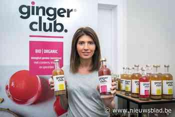 Sportieve mama brengt twee gezonde drankjes op basis van gember op de markt