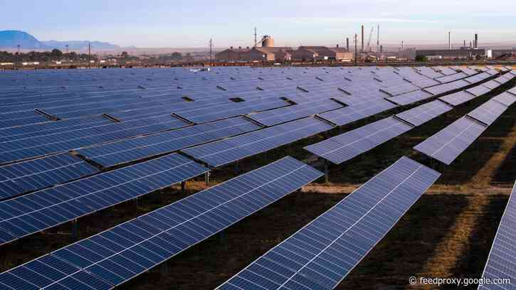 Colorado steel mill becomes 'world's first' to be run almost entirely on solar