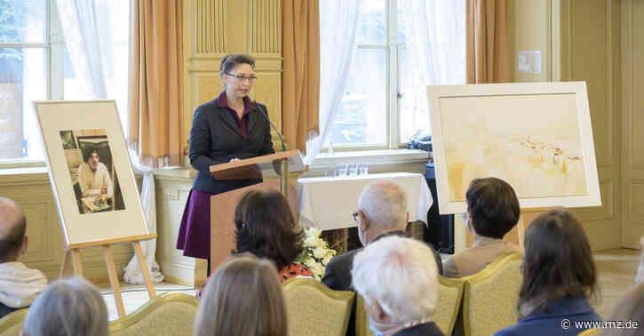 Heidelberg:  Wassili Lepantos Werke hängen jetzt im Rathaus