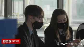 Covid: School children driving Calderdale case spike - BBC News