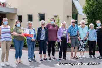 Enclave of Scarborough donates dog biscuits - Portland Press Herald - pressherald.com