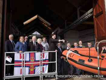 Scarborough RNLI's new inshore lifeboat officially unveiled at naming ceremony - The Scarborough News