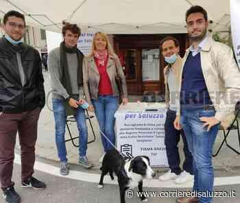 """Saluzzo: Boom di firme per il ritorno del treno - In 700 hanno risposto alla raccolta predisposta dai referenti del partito Azione, e il gruppo """"Liberalmente Giovani"""" - Il Corriere di Saluzzo"""