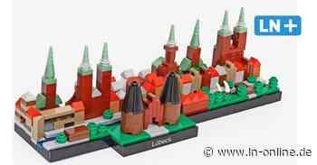 Von 17-jährigem Schüler entworfen: Lübecks Skyline als Lego-Bausatz