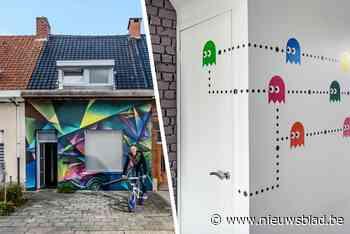 """Nik liet graffitikunstenaars los op zijn gevel: """"Mijn interieur is mijn uitlaatklep"""""""