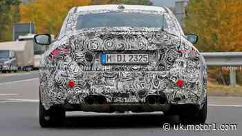 2023 BMW M2 Competition spied at the Nurburgring with fat exhaust tips