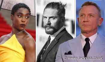 Next James Bond: Tom Hardy takes the lead as new 007 Lashana Lynch slips behind - Express