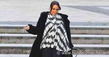 Cocaine mum beaming outside court after avoiding jail yet again