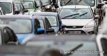 Crash in Bristol city centre causing congestion on M32 - updates