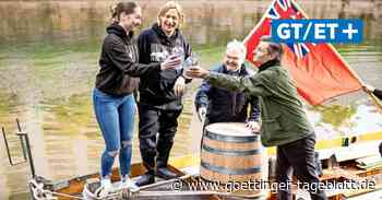 Geistreicher Gruß: Hannover schickt Gin-Fass per Boot in Partnerstadt Bristol