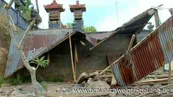 Erdbeben auf Bali: Drei Tote und mehrere Verletzte