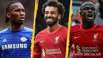 Egyptian Mohamed Salah equals Premier League goals record for Africa