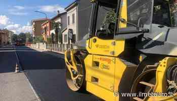 """Iniziati i lavori sul tratto della 423 """"Pesaro-Urbino"""" di proprietà della Provincia - Il Giornale del Metauro"""