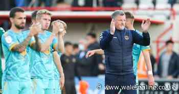 Exeter City 2-2 Newport County: Exiles' unbeaten run under interim boss Hatswell continues