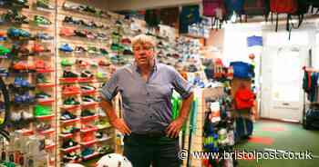 How the legacy of Bristol football legend lives on at long-running sports shop