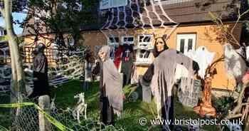 Bristol's spooky Halloween houses look frightfully good