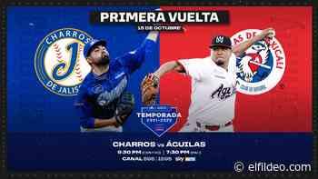 En vivo: Charros de Jalisco – Águilas de Mexicali - El Fildeo