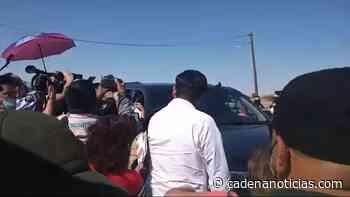 VIDEO: Así recibieron a AMLO en su visita a Mexicali - Cadena Noticias