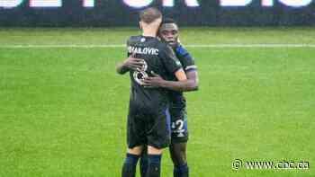 Sunusi Ibrahim's late goal leads CF Montreal to draw with Philadelphia Union