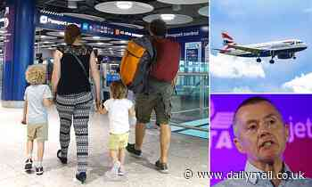Heathrow Airport's price hikes to airlines 'could put £100 on the price of a family break'