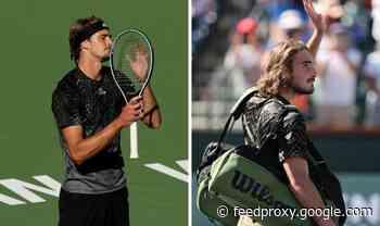 Alexander Zverev names Stefanos Tsitsipas disappointment after Indian Wells upset loss