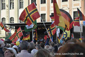 Dresden: Demos legen Innenstadt lahm - Sächsische.de