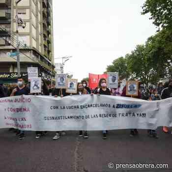 Gran movilización contra las redes de trata en Florencio Varela - Prensa Obrera