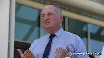 Joyce says Nationals 'highly unlikely' to back doubling of short-term emissions target