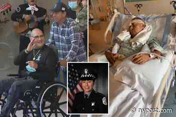 Wounded partner of slain Chicago cop Ella French leaves rehab facility - New York Post