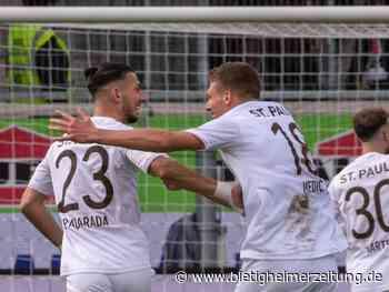 2. Liga: St. Pauli bleibt trotz Pausen-Rückstands Erster - Bietigheimer Zeitung